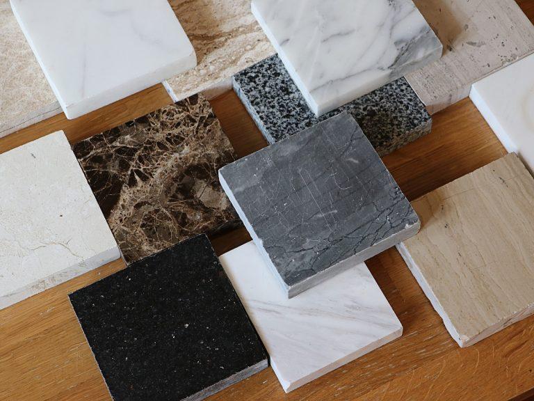 Muster Küchenarbeitsplatten aus Naturstein